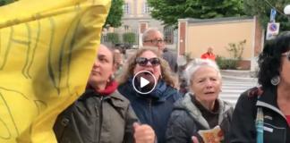 Donne contestano Salvini in provincia di Pisa
