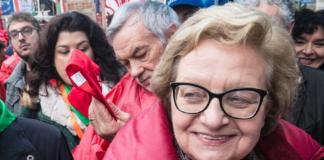 La presidente nazionale dell'Anpi Carla Nespolo
