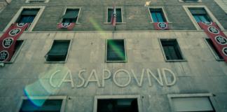 La sede di CasaPound