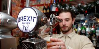brexit blonde marca di birra