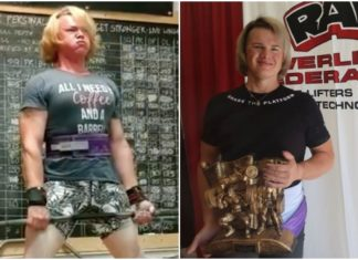 Transgender sollevamento pesi