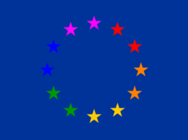 bandiera europea gay friendly