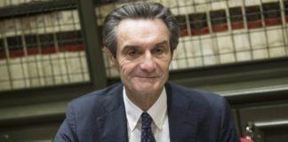 Il governatore lombardo Attilio Fontana