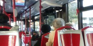 autobus, interno
