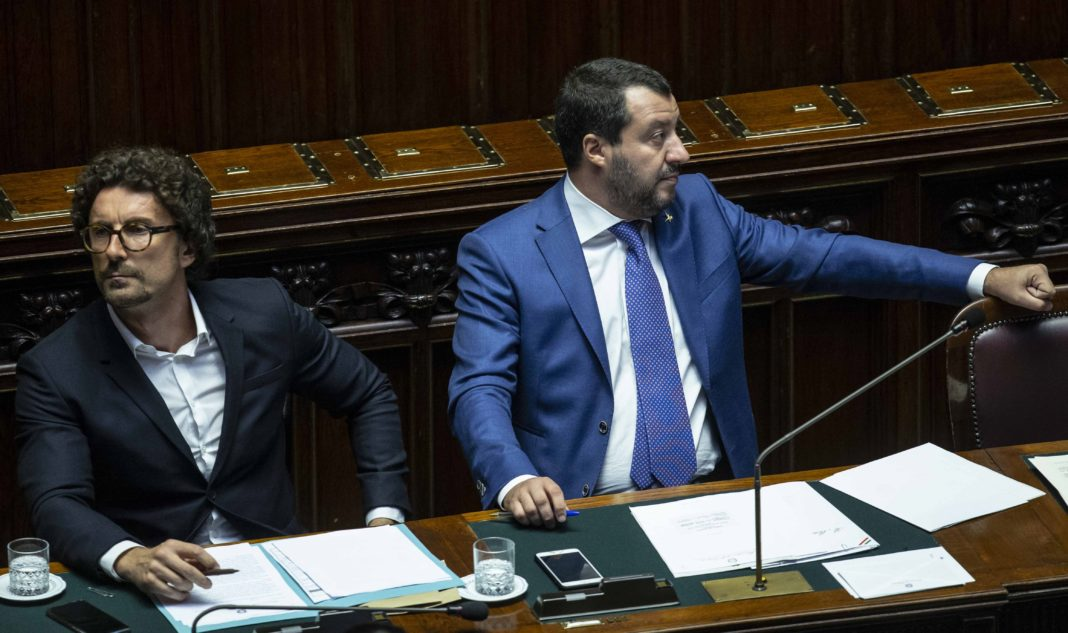 Toninelli e Salvini