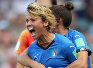 Valentina Giacinti, attaccante della Nazionale italiana di calcio femminile