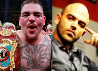 Il campione Andy Ruiz Jr e Roberto Saviano