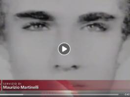 Screenshot del servizio del Tg2 su Francesco Cecchin