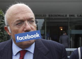 facebook censura storace