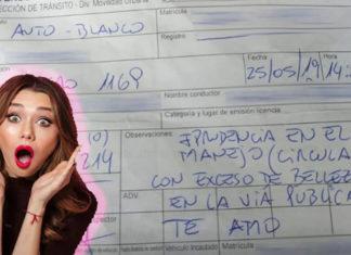 """Uruguay, vigile innamorato multa donna per """"eccesso di bellezza"""""""