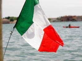 bandiera italiana, mare