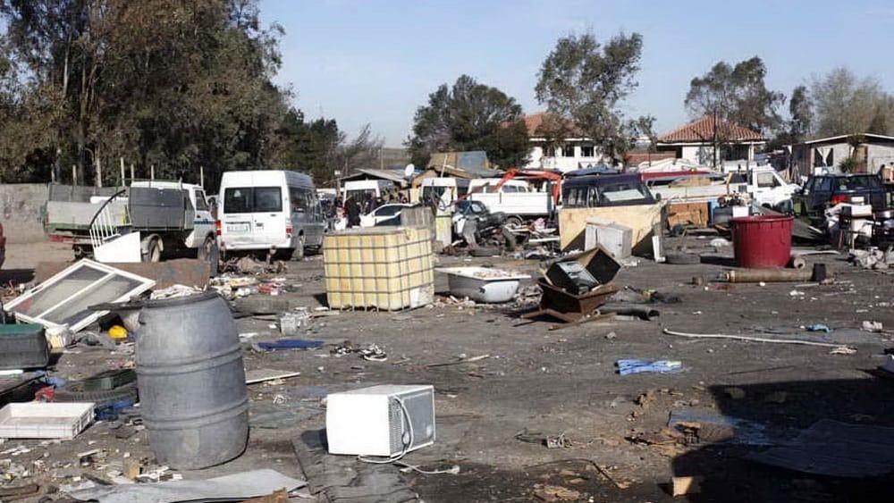 campo rom giugliano