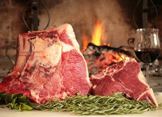 carne, bistecca chianina