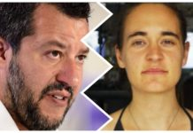 matteo salvini carola rackete capitana sea watch