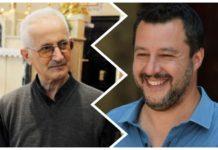 don Giorgio De Capitani e Matteo Salvini