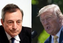 Draghi e Trump