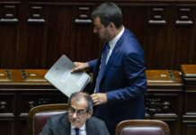 Salvini e Tria