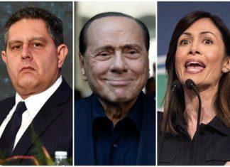 Toti, Berlusconi e Carfagna