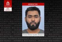 attentatore cingalese arrestato