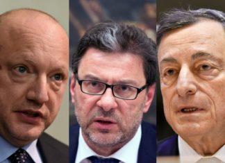 Scontro sui minibot tra Boccia, Giorgetti e Draghi