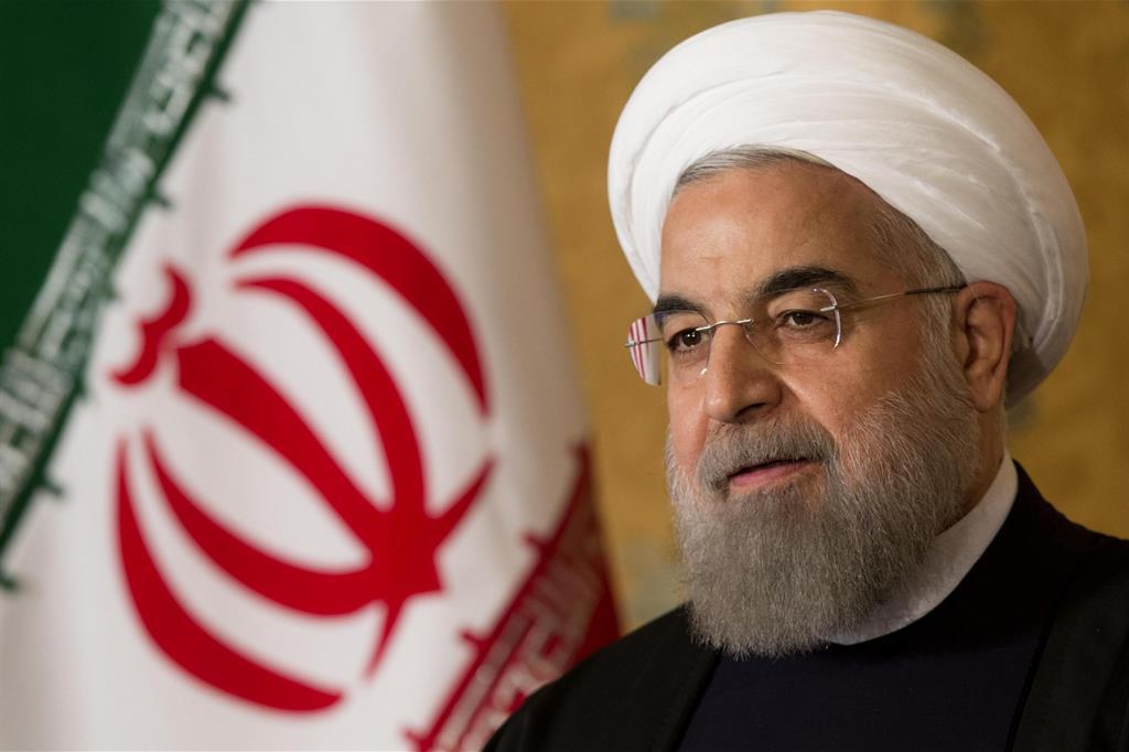 Il presidente iraniano Rohani