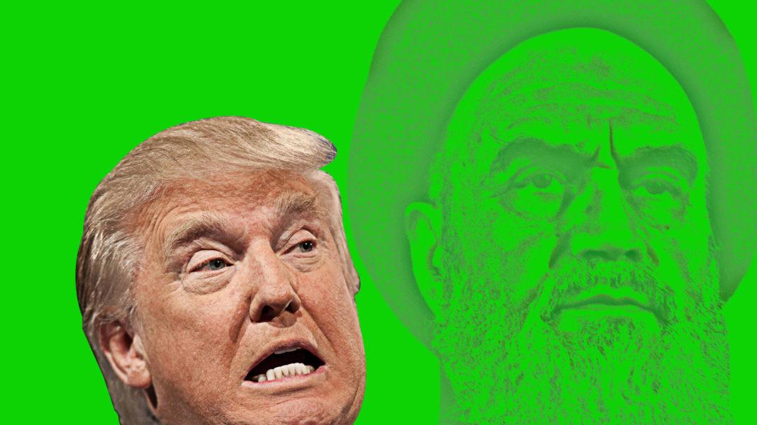 trump e khomeini