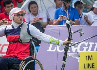 zahra nemati, atleta paralimpica
