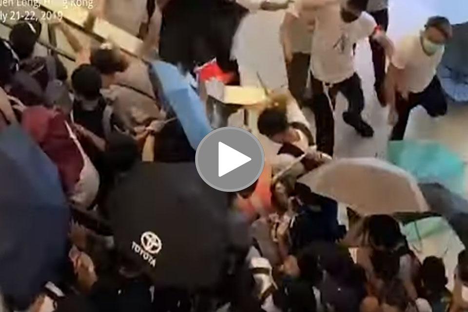 Hong Kong manifestanti