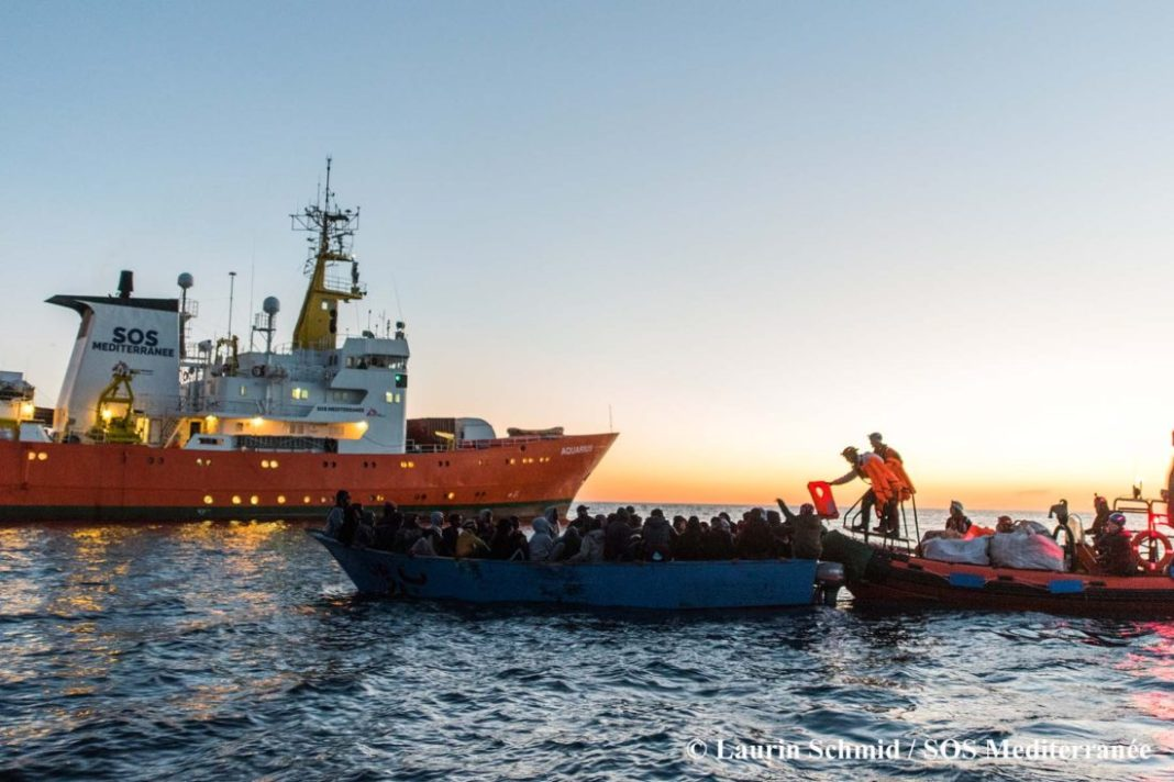 Sos Mediterranée, nave Ocean Viking
