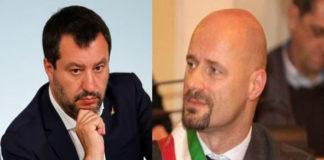 Matteo Salvini e Andrea Carletti