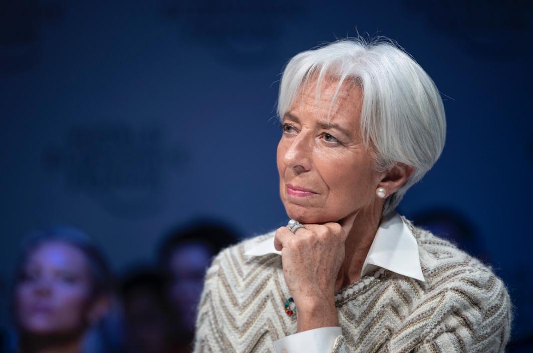 Christine Lagarde neo presidente della Bce