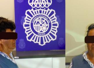 corriere colombiano cocaina parrucchino
