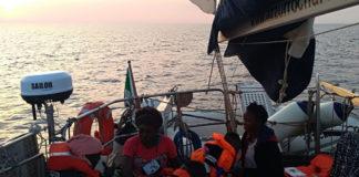 Foto della nave della Ong Mediterranea