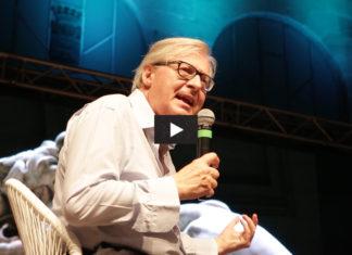 Vittorio Sgarbi interviene al festival di CulturaIdentità a La Spezia
