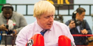 boris johnson, boxe