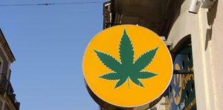 cannabis shop, insegna