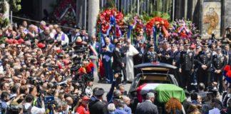 funerali carabiniere ucciso