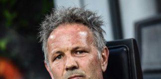 L'allenatore del bologna Sinisa Mihajlovic