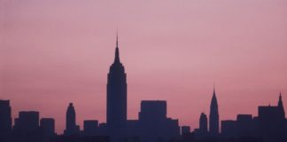 new york al buio