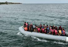 gommone di immigrati, grecia