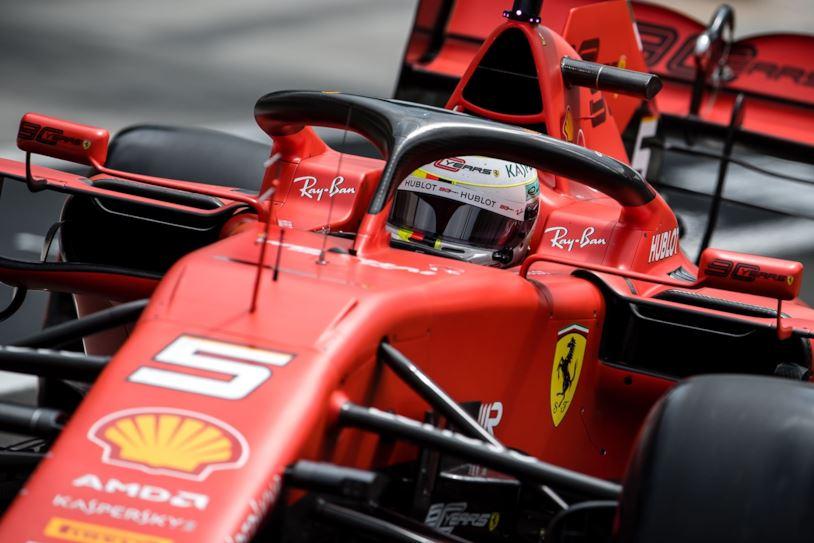 Una Ferrari di Formula 1