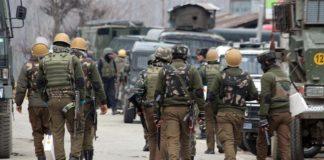 Truppe militari in Kashmir