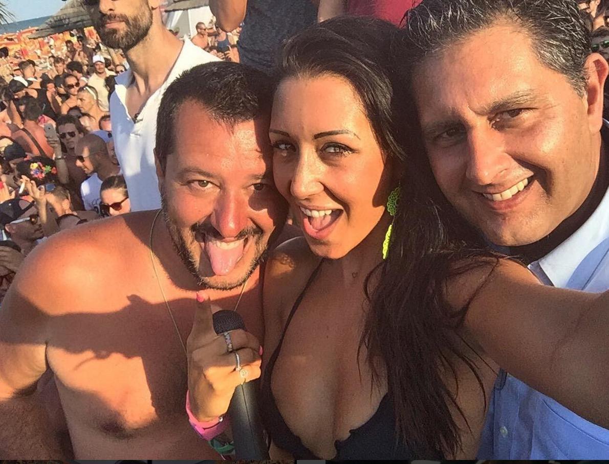 Αποτέλεσμα εικόνας για Salvini dj