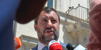 Matteo Salvini ministro dell'Interno