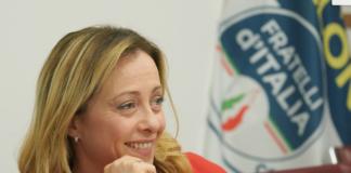 Giorgia Meloni presidente di Fratelli d'Italia