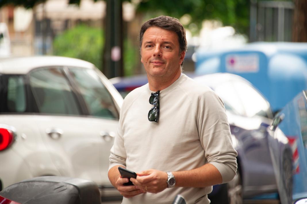 Matteo Renzi senatore Pd