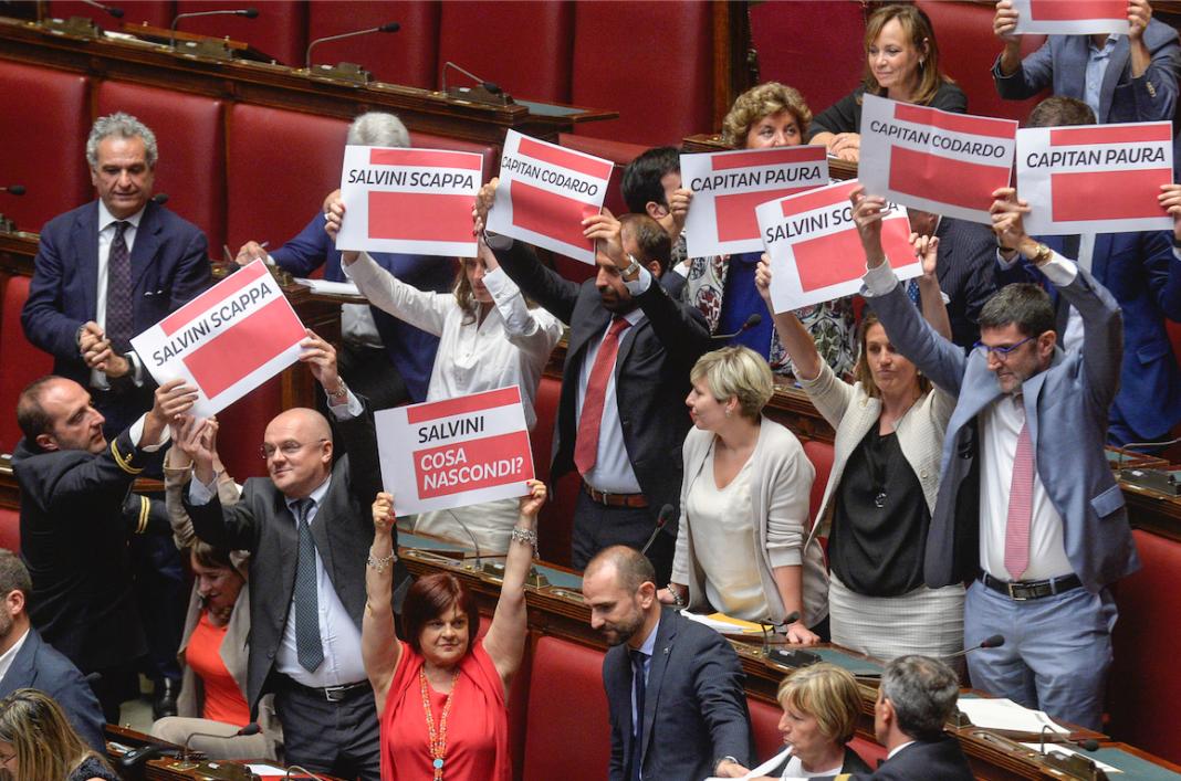 Parlamentari a Montecitorio