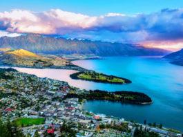 Foto della Nuova Zelanda