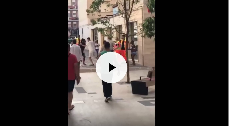 Still dal Video della Nigeriana a Latina