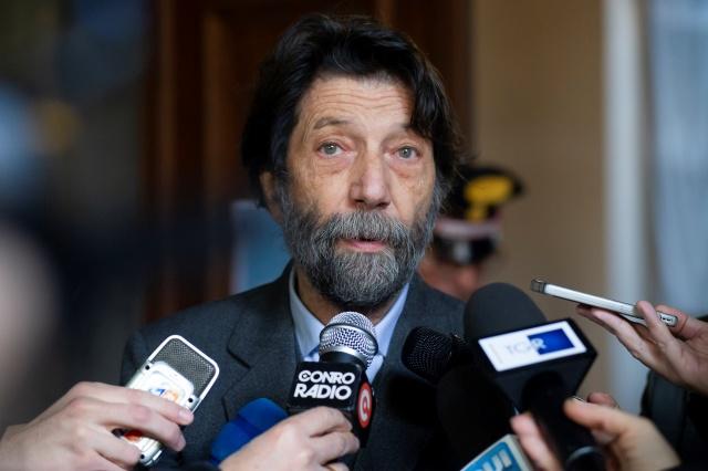 Il filosofo Massimo Cacciari